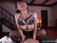 Juicy Hana Nonoka Rides Like A Horny Asian Cowgirl