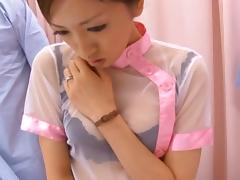 Nurse Yuri Kasiwa Fucked By Three Hospital Patients