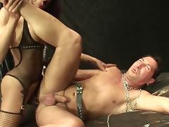 Sexy Dom Fucks Her Sub