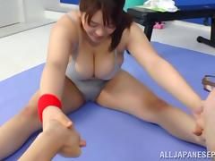 Mizuki Ann hot Asian milf gets hot tit fucking