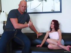 Jessie Palmer gives head and gets her pussy slammed