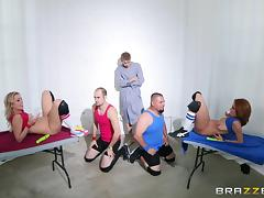 Ashley Graham, Zoey Monroe And Danny D Have A Kinky Threesome