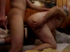 Cute arab fucks his bearbuddy on sofa - i