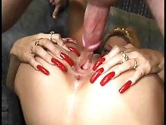 Hot slut maria fucked with long nails