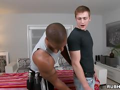 Rick McCoy fucks Robert Axel after getting massaged