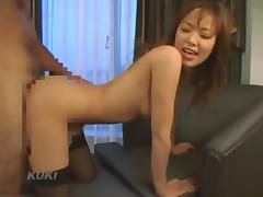 Busty Jap doctor gets slammed and sprayed