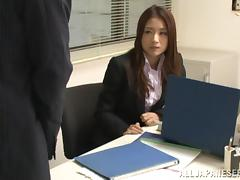Japanese Office Girl Gets Fucked Hardcore