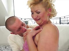 A Hot, Mature Woman With A Hairy Pussy Enjoying A Hardcore, Doggy Style Fuck