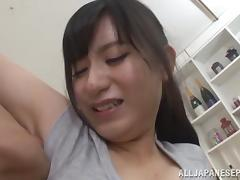 Amazing Asian housewife Mira Tamana gets hot rear fuck