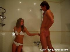 Exquisite Clarissa And Max Go Hardcore In The Shower