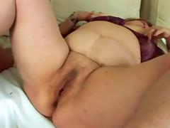 BBW Granny Dominika With Big Ass And Tits