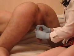 Ass Licking, Ass Licking, Femdom, Hairy, Husband, Masturbation