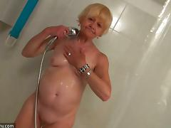 Horny Granny Fingering A Sexy Ass Teen With Small Tits