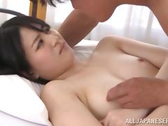 Spectacular Asian Girl Gets Banged Hard Over A Bed