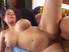 Mouthwatering June Summers Gets A Cumshot On Her Hairy Pussy