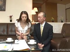 Misuzu Takashi is fucked silly by a horny guy as she moans