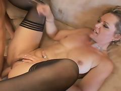 Mom and Boy, Blonde, Mature, MILF, Old and Young, Mom and Boy