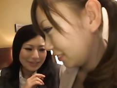 Kanade Otowa,Mei Miura, Shino Kanou lovely Asian office ladies