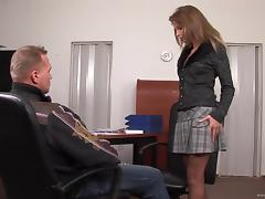 Mouthwatering Lauryn May Goes Really Hardcore In The Office