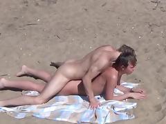 Nudist, Beach, Couple, Nudist, Outdoor, Sex