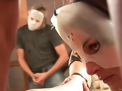 Masked Babes Get A Hardcore Anal In This Nasty Orgy
