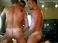 Three Gay Guys Having a Wicked, Hardcore Threesome