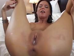 Double Creampie Threesome 22