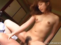 Fabulous Japanese Lady Rides Hard Like A Crazy Cowgirl