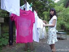 Japanese Pornstar Emiko Gets Fucked in Her Closet