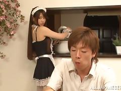 Striking Arisa Misato Gets Banged Hard By Her Dirty Boss