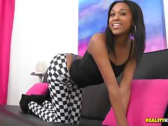Wonderful Ebony Has Interracial Sex With A Horny Guy
