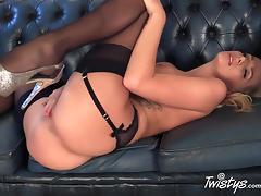 Panties, Big Tits, Blonde, Fingering, Masturbation, Panties