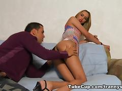 TrannySurprise - More than horny