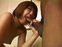 Young Asian Whore Sucking BBC