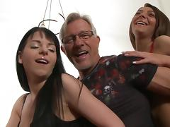 Striking Christoph Clark, Jessica Swan, And Alexis Brill Have A Threesome