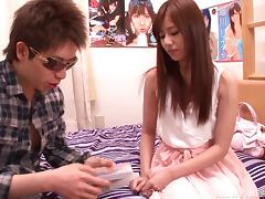 Astounding Rina Rukawa Gets Her Pussy Fingered Hard