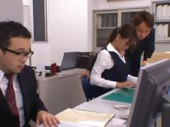 A Hard Fuck At The Office Picks Up Her Afternoon Production