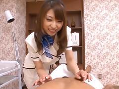 Syouko Akiyama is a kinky Asian nurse