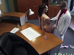 Spy, Amateur, Big Cock, Desk, Doctor, Fucking