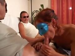 French non-professional swingers