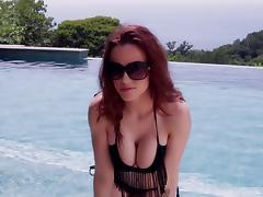 Bikini, Adorable, Bikini, Erotic, Outdoor, Pool