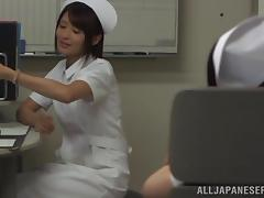 Japanese Nurse Gets Fucked by an Alien in a Fetish Video