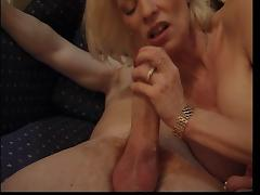 FRENCH GRANNY EVA DESTROYED BY A HUGE WHITE DICK (ANAL)