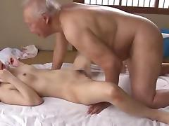 Cute, Asian, Couple, Cute, Japanese, Old Man
