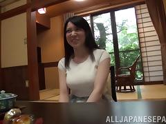 Hot Japanese Girl With Natural Tits Jazzed Hardcore
