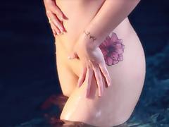 Bikini, Bikini, Erotic, Glamour, Outdoor, Pool