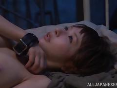 Fetish Japanese Cutie With Natural Tits Gets Anal Penetration