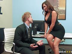 Hot Destiny Dixon Gets Banged In The Office