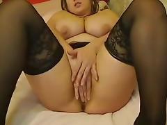 Webcams 2014 - Romanian Monster Tits 2: DILDO FUN