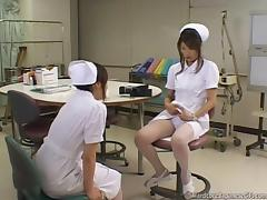 Hot Nurse Injects Self
